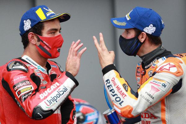 Danilo Petrucci, Ducati Team , Alex Marquez, Repsol Honda Team.
