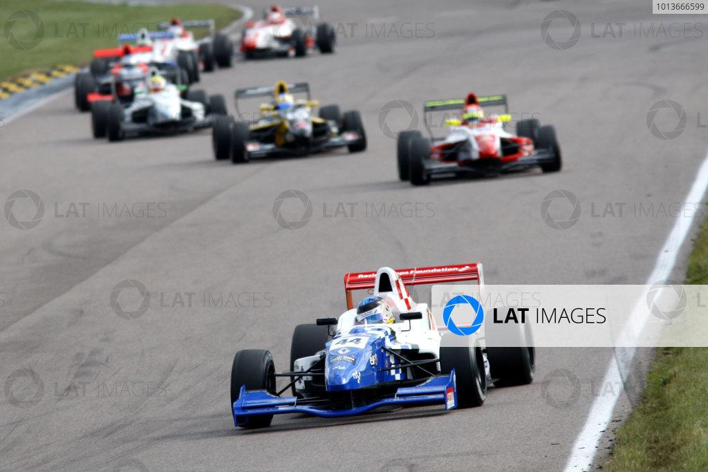 Rockingham, Northamptonshire. 17th - 18th September 2011.Oliver Rowland (GBR) Fortec Motorsport Formula Renault.World Copyright: Ebrey/LAT Photographic.