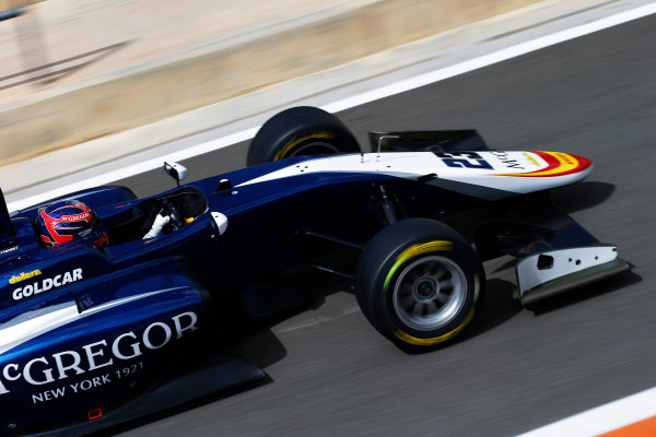 2016 GP3 Series Test 2 - Circuit Ricardo Tormo, Valencia, Spain. Friday 8 April 2016. Steijn Schothorst (NED, Campos Racing)  World Copyright: Sam Bloxham/LAT Photographic. ref: Digital Image _L4R2146