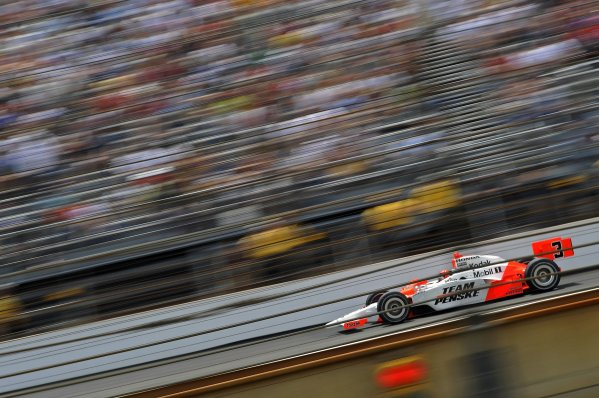 25 May 2008, Indianapolis,Indiana USAHelio Castroneves's Team Penske Honda/Dallara #3©2008 F Peirce Williams USALAT Photographic