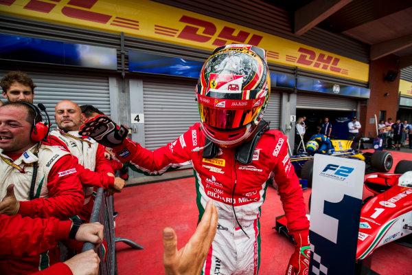 2017 FIA Formula 2 Round 8. Spa-Francorchamps, Spa, Belgium. Saturday 26 August 2017. Charles Leclerc (MCO, PREMA Racing).  Photo: Zak Mauger/FIA Formula 2. ref: Digital Image _54I1996