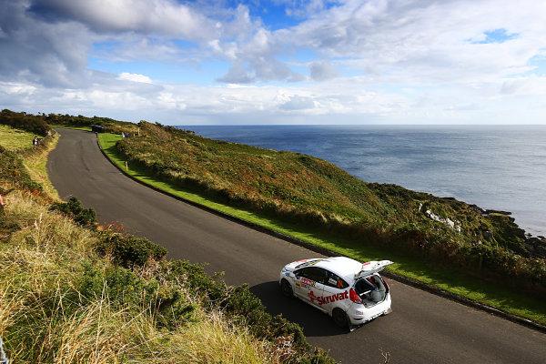 2017 Prestone MSA British Rally Championship, Rally Isle of Man. 14th - 16th September 2017. Oscar Solberg / Patrik Barth Ford Fiesta R2T. World Copyright: JEP/LAT Images