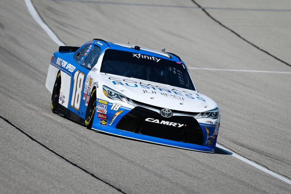 NASCAR XFINITY Series TheHouse.com 300 Chicagoland Speedway, Joliet, IL USA Friday 15 September 2017 Daniel Suarez, Comcast Business / Juniper Toyota Camry World Copyright: Barry Cantrell LAT Images