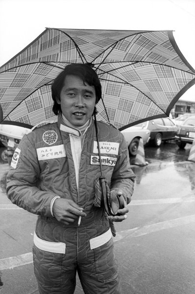 Masahiro Hasemi (JPN) Kojima, finished twelfth but earned the notable distinction in setting the race's fastest lap on his first and only GP appearance.