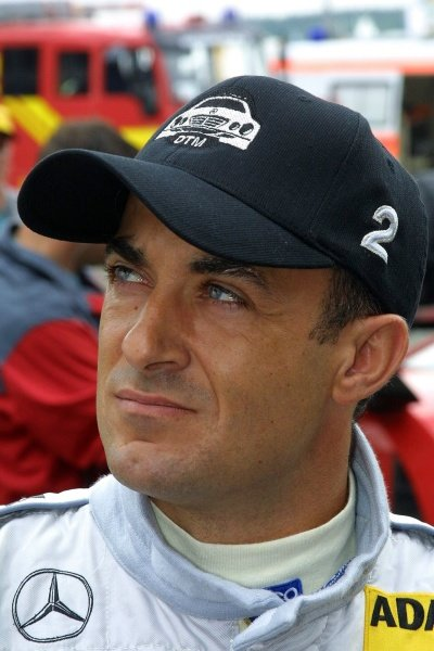 Jean Alesi (FRA) AMG Mercedes.DTM Championship, Rd6, Lausitzring, Germany. 14 July 2002.DIGITAL IMAGE