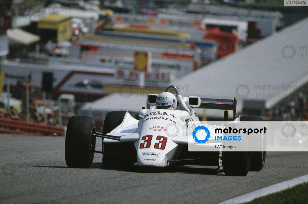 1982 Austrian Grand Prix.