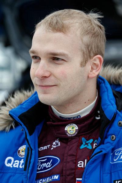 2013 FIA World Rally Championship Round 02-Rally Sweden 07-10 Februari 2013. Evgeny Novikov, Ford WRC, Portrait.. Worldwide Copyright: McKlein/LAT