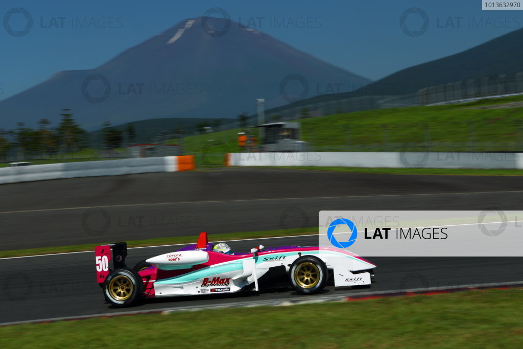 Fuji, Japan. 17th July 2011 Round 6 - Winner Yuhi Sekiguchi ( #50 B-MAX ENGINEERING ), action World Copyright: Yasushi Ishihara/LAT Photographicref: Digital Image 2011JF3_R6_004