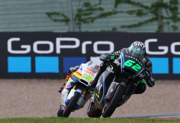 2017 Moto2 Championship - Round 9 Sachsenring, Germany Sunday 2 July 2017 Stefano Manzi, Sky Racing Team VR46 World Copyright: David Goldman/LAT Images ref: Digital Image 34374
