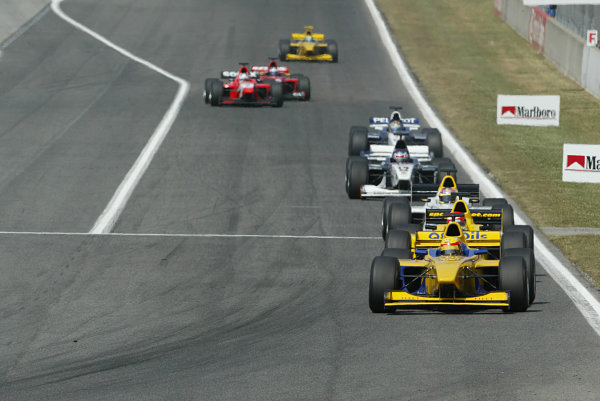2003 F3000 Championship.Barcelona, Spain.3rd May 2003.Action.World Copyright LAT Photographic.ref: Digital image only