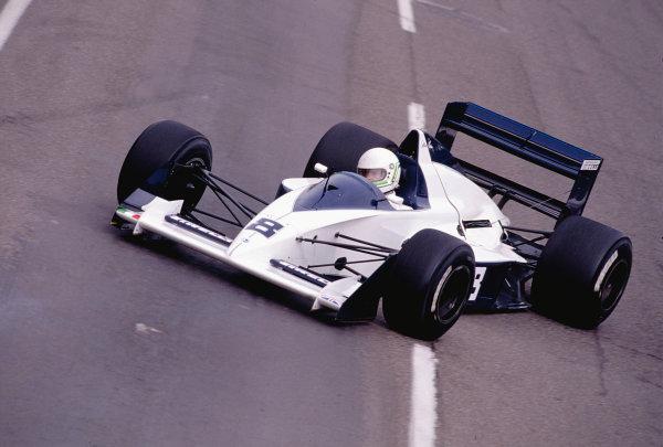 1990 United States Grand Prix.Phoenix, Arizona, USA.9-11 March 1990.Stefano Modena (Brabham BT58 Judd) 5th position.Ref-90 USA 45.World Copyright - LAT Photographic