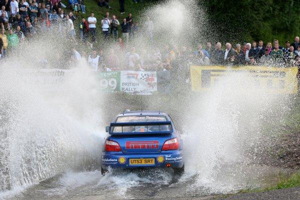 Derek McGarrityJim Clark Rally2006 British Rally ChampionshipKelso, ScotlandWorldwide copyright: Ebrey/LAT Photographicv