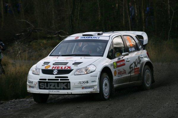 2007 World Rally Championship,Wales Rally GB, 30th November - 2nd December 2007,Sebastian Lindholm, Suzuki, Action, World Copyright: McKlein/LAT Photographic