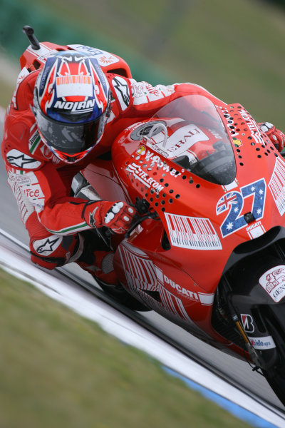 Assen, Netherlands.26th - 28th June 2009.Casey Stoner Ducati Marlboro Team.World Copyright: Martin Heath/LAT Photographicref: Digital Image BPI_Moto 8sxt