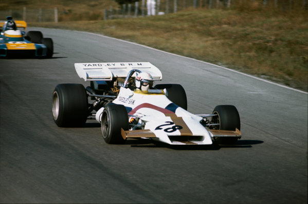 Mosport Park, Canada. 19 September 1971.George Eaton, B.R M. P160, 15th position, action.World Copyright: LAT PhotographicRef: 71CAN51.