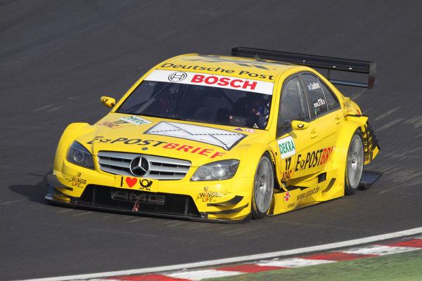 David Coulthard (GBR), AMG Mercedes, AMG Mercedes C-Klasse (2008).DTM, Rd7, Brands Hatch, England, 3-5 September 2010.World Copyright: LAT Photographicref: dne1004se213