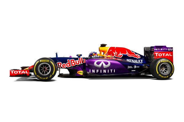 Infiniti Red Bull Racing RB11 Studio Images. Milton Keynes, UK. Sunday 1 March 2015. The Red Bull Racing RB11. Photo: Red Bull Racing (Copyright Free FOR EDITORIAL USE ONLY) ref: Digital Image RB11_LIVERY_11