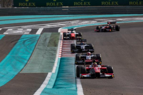 2017 FIA Formula 2 Round 11. Yas Marina Circuit, Abu Dhabi, United Arab Emirates. Sunday 26 November 2017. Charles Leclerc (MCO, PREMA Racing).  Photo: Zak Mauger/FIA Formula 2. ref: Digital Image _X0W9867