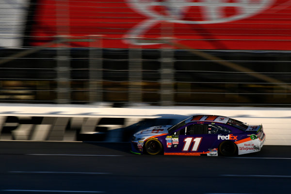 Monster Energy NASCAR Cup Series First Data 500 Martinsville Speedway, Martinsville VA USA Sunday 29 October 2017 Denny Hamlin, Joe Gibbs Racing, FedEx Walgreens Toyota Camry World Copyright: Scott R LePage LAT Images ref: Digital Image lepage-171029-mart-9004