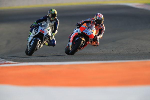 2017 MotoGP Championship - Valencia test, Spain. Tuesday 14 November 2017 Dani Pedrosa, Repsol Honda Team World Copyright: Gold and Goose / LAT Images ref: Digital Image 706890