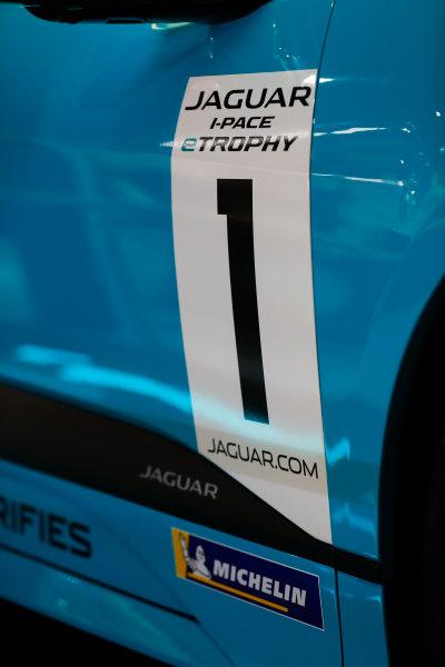 Autosport International Exhibition. National Exhibition Centre, Birmingham, UK. Thursday 11th January 2017. The Jaguar I-Pace Trophy.World Copyright: Glenn Dunbar/LAT Images Ref: _X4I4084