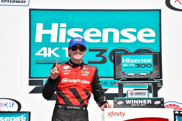 NASCAR Xfinity Series Hisense 4K TV 300 Charlotte Motor Speedway, Concord, NC USA Saturday 27 May 2017 Ryan Blaney, Snap-On Ford Mustang World Copyright: Rusty Jarrett LAT Images ref: Digital Image 17CLT2rj_9603