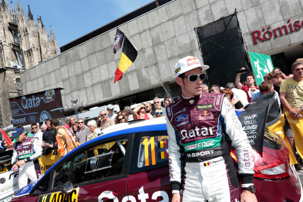 2013 FIA World Rally Championship Round 09-Rally Germany 21-25/8 2013. Thierry Neuville, Ford, portrait  Worldwide Copyright: McKlein/LAT