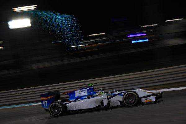 2013 GP2 Series Test 3 Yas Marina Circuit, Abu Dhabi, UAE. Day 3, Thursday 7th November 2013. Jordan King (GBR, Barwa Addax Team)  World Copyright: Sam Bloxham/LAT Photographic. ref: Digital Image IMG_6002