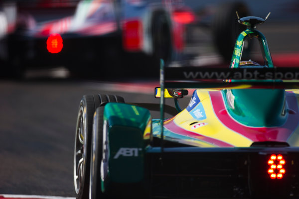 2016/2017 FIA Formula E Championship. Marrakesh ePrix, Circuit International Automobile Moulay El Hassan, Marrakesh, Morocco. Daniel Abt (GER), ABT Schaeffler Audi Sport, Spark-Abt Sportsline, ABT Schaeffler FE02.  Saturday 12 November 2016. Photo: Sam Bloxham/LAT/Formula E ref: Digital Image _SLA7667