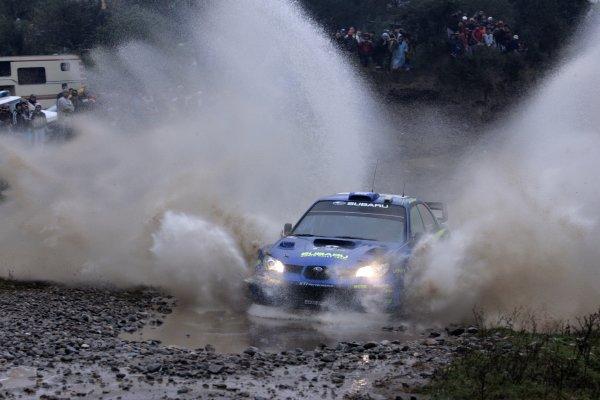 2007 FIA World Rally Champs. Round 6Rally Argentina, 3 May - 6 May Chris Atkinson, Subaru,, actionWorld Copyright: McKlein/LAT