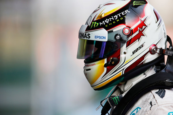 Shanghai International Circuit, Shanghai, China. Saturday 11 April 2015. Lewis Hamilton, Mercedes AMG. World Copyright: Steven Tee/LAT Photographic. ref: Digital Image _X0W7517