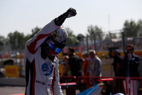 2016 GP3 Series Round 1 Circuit de Catalunya, Barcelona, Spain. Sunday 15 May 2016. Alexander Albon (THA, ART Grand Prix)  Photo: Sam Bloxham/GP3 Series Media Service. ref: Digital Image _R6T9378