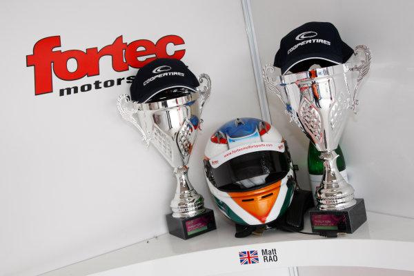 2014 British F3 International Series, Thruxton, England. 16-17 August 2014. Matt Rao (GBR) Fortec Motorsports Dallara Mercedes. World Copyright: Ebrey / LAT Photographic.