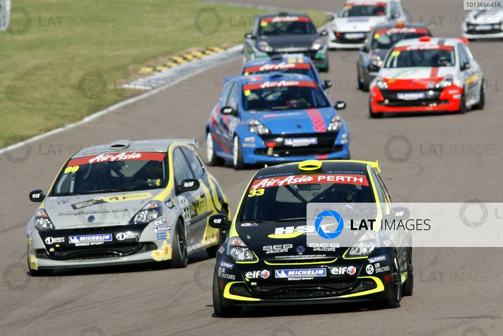 Rockingham, Northamptonshire. 17th - 18th September 2011.Jack Goff (GBR) Team Pyro Renault Clio Cup.World Copyright: Ebrey/LAT Photographic.