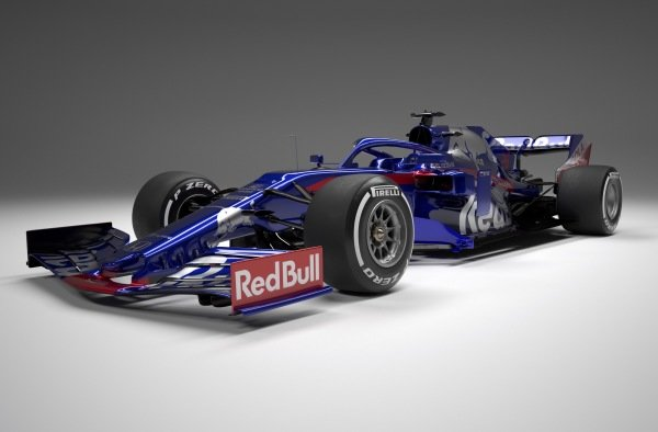 The new Scuderia Toro Rosso STR14