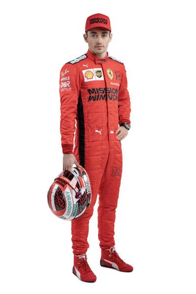 Charles Leclerc, Ferrari. Note to editors: Copyright Ferrari, editorial use only
