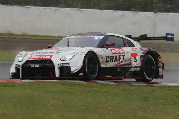 Round 7 GT500 Winner Kohei Hirate & Frederic Makowiecki, Craftsports Motul NDDP Racing with B-Max Nissan GT-R NISMO