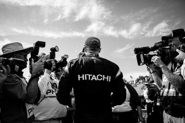 Josef Newgarden, Team Penske Chevrolet celebrates winning the NTT IndyCar championship