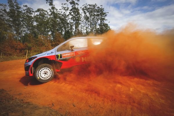 Thierry Neuville (BEL) / Nicolas Gilsoul (BEL) Hyundai i20 WRC at FIA World Rally Championship, R10, Coates Hire Rally Australia, Preparations & Shakedown, Coffs Harbour, New South Wales, Australia, 10 September 2015.