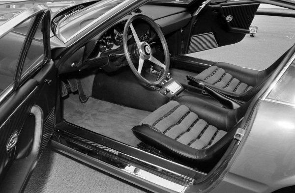 Ferrari Daytona interior.