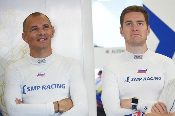 Stéphane Sarrazin, Stoffel Vandoorne, SMP Racing