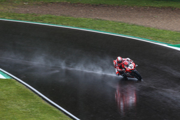 Michael Ruben Rinaldi, Barni Racing Team on wet assment laps.