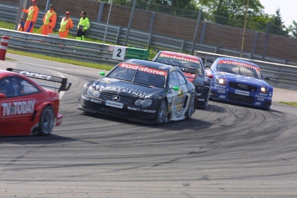 DTM action at the Sachsenring.German Touring Car Championship, Sachsenring, Germany, 2 June 2002DIGITAL IMAGE