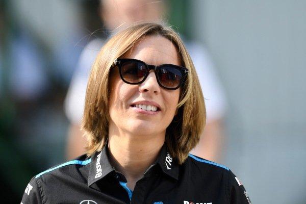 Claire Williams, Deputy Team Principal, Williams Racing