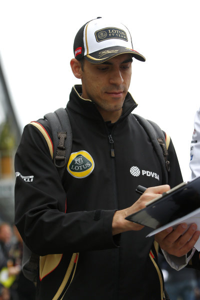 Pastor Maldonado (VEN) Lotus at Formula One World Championship, Rd8, Austrian Grand Prix, Qualifying, Spielberg, Austria, Saturday 20 June 2015.