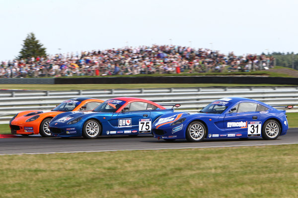 2015 Ginetta Junior Championship,  Snetterton, 8th-9th August 2015. Stuart Middleton (GBR) Douglas Motorsport World copyright. Jakob Ebrey/LAT Photographic