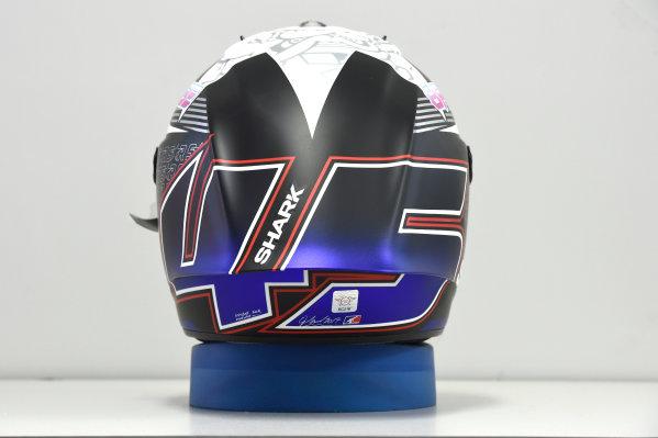 2017 MotoGP Championship - Round 16 Phillip Island, Australia. Thursday 19 October 2017 Scott Redding, Pramac Racing helmet World Copyright: Gold and Goose / LAT Images ref: Digital Image 698157