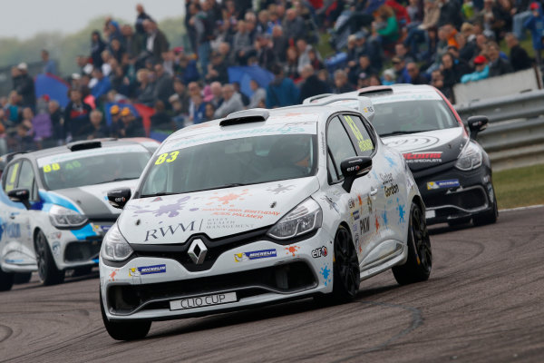 2017 Renault Clio Cup Thruxton, 6th-7th May 2017,  Kyle Hornby (GBR) Pyro with 20Ten Racing Renault Clio Cup World copyright. JEP/LAT Images