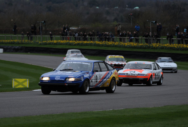 2017 75th Members Meeting Goodwood Estate, West Sussex,England 18th - 19th March 2017 Gerry Marshall Trophy Kristensen Rover World Copyright : Jeff Bloxham/LAT Images Ref : Digital Image
