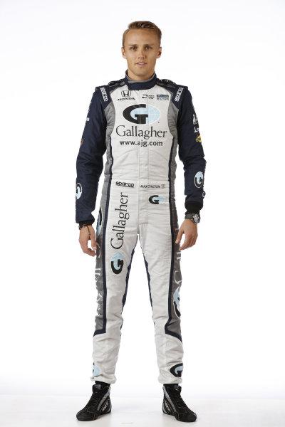 2017 IndyCar Media Day - Driver portrait Phoenix Raceway, Arizona, USA Thursday 9 February 2017 Max Chilton World Copyright: Michael L. Levitt/LAT Images ref: Digital Image _AT_9669
